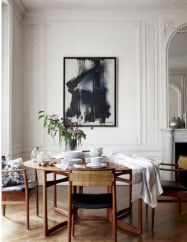 Mid century scandinavian dining room design ideas (9)