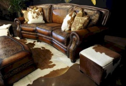 70 Modern Leather Living Room Furniture Ideas - Round Decor