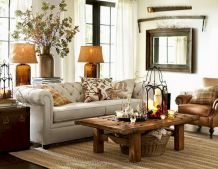 Modern leather living room furniture ideas (17)
