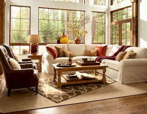 Modern leather living room furniture ideas (19)