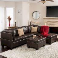 Modern leather living room furniture ideas (38)