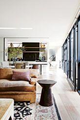Modern leather living room furniture ideas (59)