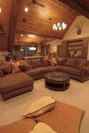 Modern leather living room furniture ideas (60)