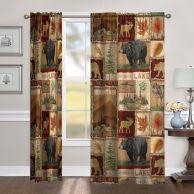 Rustic living room curtains design ideas (41)