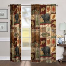 Rustic living room curtains design ideas (41)