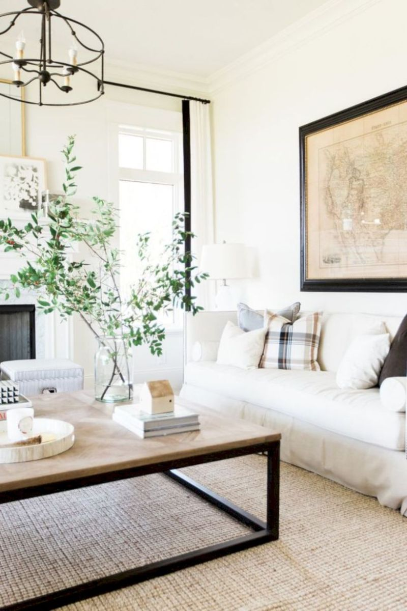 Rustic living room curtains design ideas (42) - Round Decor
