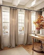 Rustic living room curtains design ideas (43)