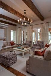 Rustic living room curtains design ideas (49)