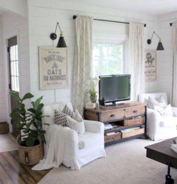 Rustic living room curtains design ideas (55)