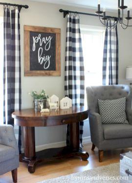 Rustic living room curtains design ideas (56)