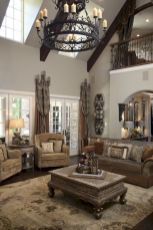Rustic living room curtains design ideas (9)