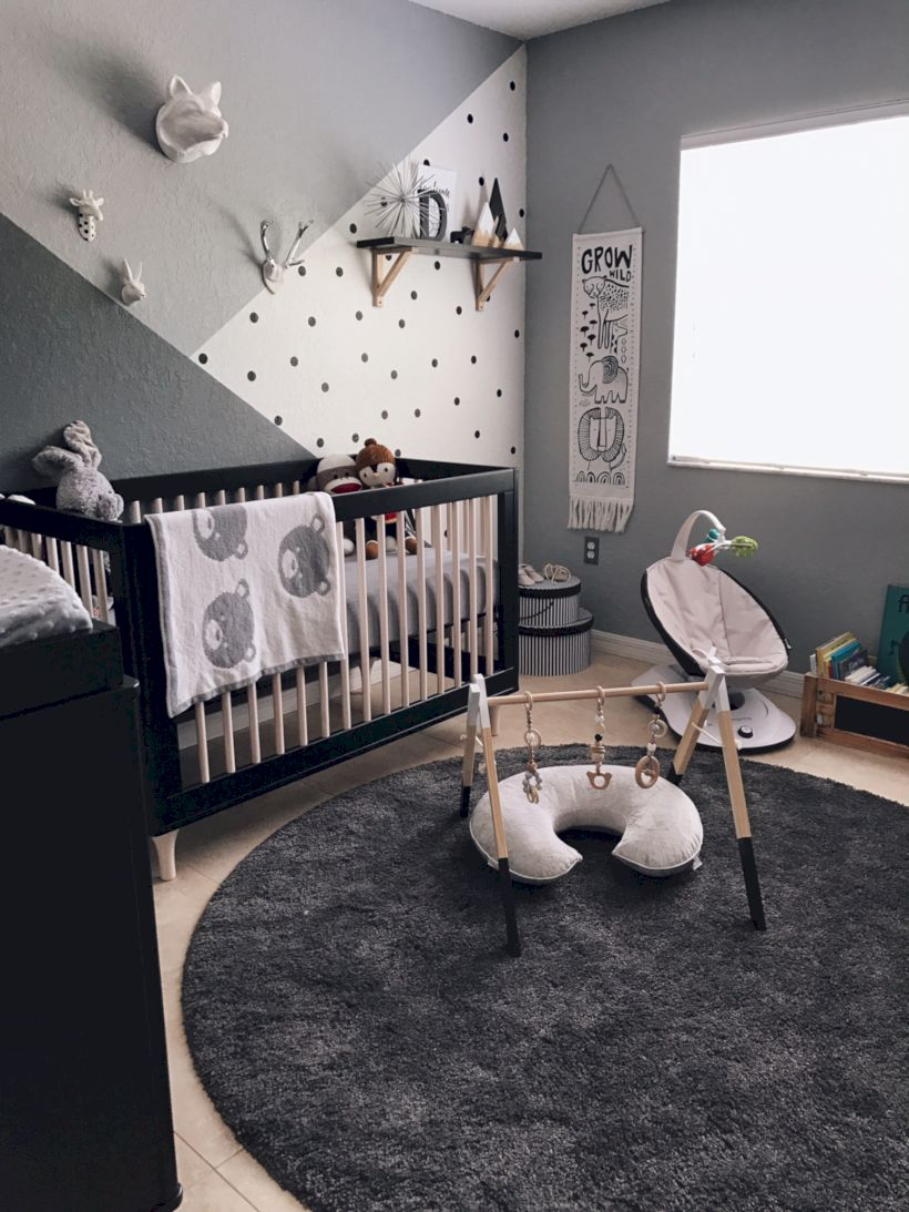 Simple baby boy nursery room design ideas (15)