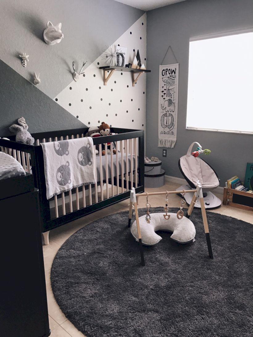 Simple baby boy nursery room design ideas (15)