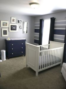 Simple baby boy nursery room design ideas (22)