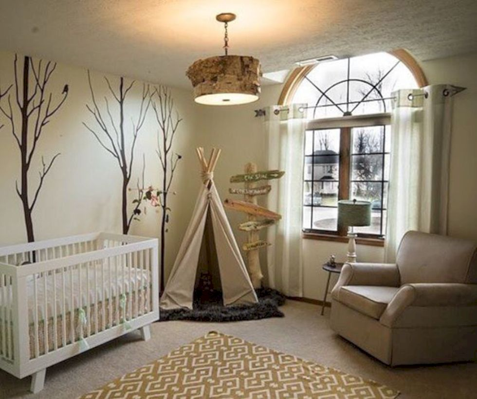 Simple baby boy nursery room design ideas (3)