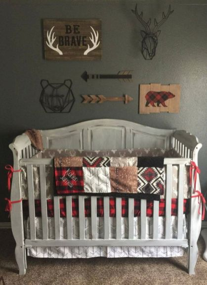 Simple baby boy nursery room design ideas (50)