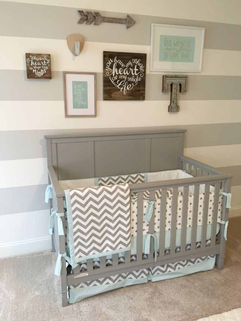 Simple baby boy nursery room design ideas (52)