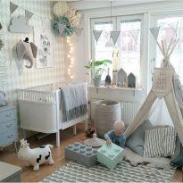 Simple baby boy nursery room design ideas (67)