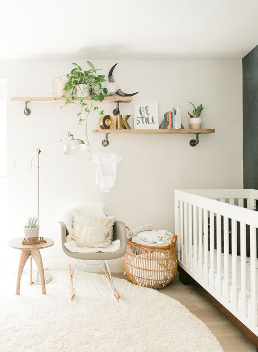 Simple baby boy nursery room design ideas (9)