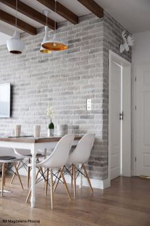 Small modern industrial apartment decoration ideas 14