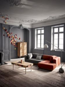 Stylish dark wood floor ideas for your living room (13)