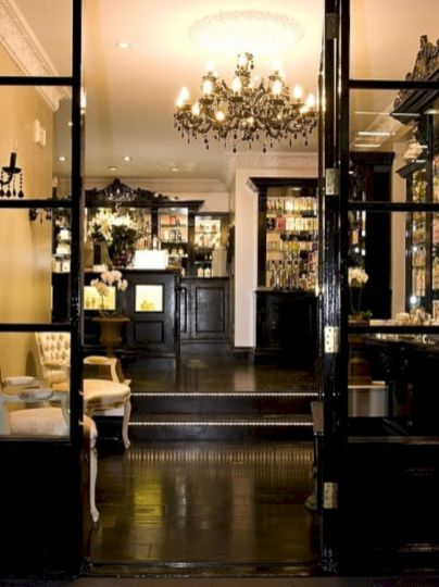 Stylish dark wood floor ideas for your living room (20)