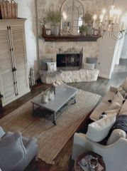 Stylish dark wood floor ideas for your living room (23)