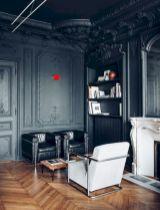 Stylish dark wood floor ideas for your living room (33)