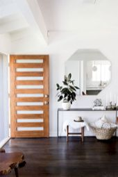 Stylish dark wood floor ideas for your living room (46)
