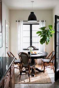 Stylish dark wood floor ideas for your living room (54)