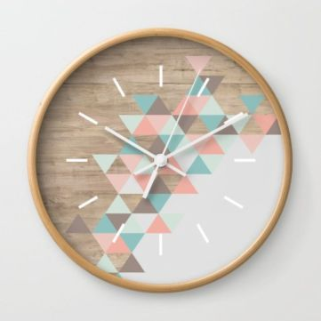 Unique wall clock designs ideas 15