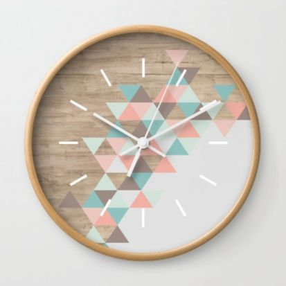 Unique wall clock designs ideas 15