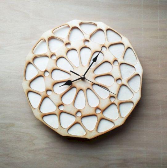 Unique wall clock designs ideas 17