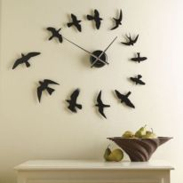 Unique wall clock designs ideas 36