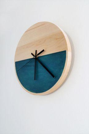 Unique wall clock designs ideas 39