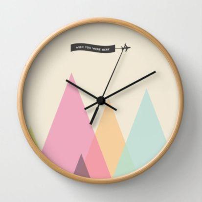Unique wall clock designs ideas 53