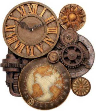 Unique wall clock designs ideas 55