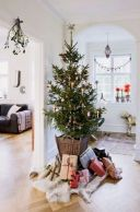 Adorable christmas living room décoration ideas 38 38