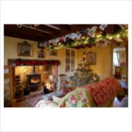 Adorable christmas living room décoration ideas 50 50