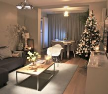 Adorable christmas living room décoration ideas 53 53