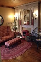 Adorable christmas living room décoration ideas 6 6
