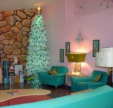 Adorable christmas living room décoration ideas 7 7