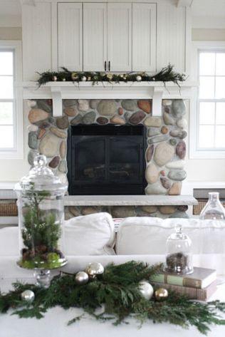 Adorable christmas living room décoration ideas 9 9