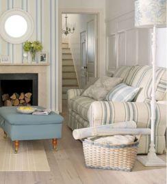 Adorable country living room design ideas 17