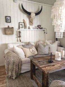 Adorable country living room design ideas 32