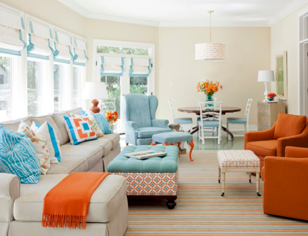 54 Adorable Country Living Room Design Ideas