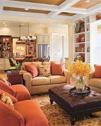 Adorable country living room design ideas 34