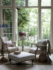 Adorable country living room design ideas 38