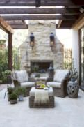 Adorable country living room design ideas 43