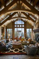 Adorable country living room design ideas 49